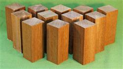 "Blank #710 - Jatoba Extra Long Bottle Stopper Solid Turning Blanks ~ 12 Each ~ 1 1/2"" x 1 1/2"" x 4"" ~ $19.99"